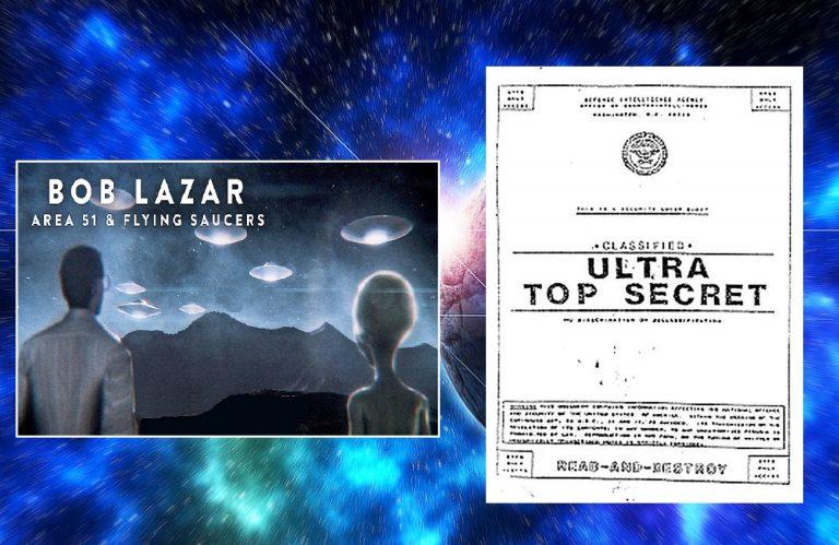Язон Масон - Боб Лазар представляет новый фильм о своем опыте в качестве правительственного служащего в Зоне 51 и имеющихся там НЛО! А также другие новости  21/12/18 Lazar-768x499